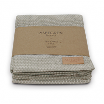 "Aspegren Geschirrtuch Set ""Waffle"" Light Grey"