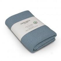 "Aspegren Handtuch ""Organic Cotton"" Solid Dream Blue"