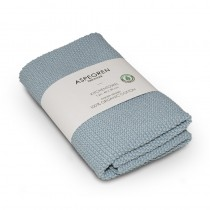 "Aspegren Handtuch ""Organic Cotton"" Solid Skyblue"