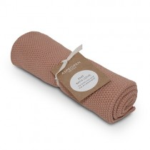 "Aspegren Handtuch ""Knit with Love"" Solid Pale Blush"