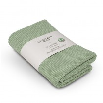 "Aspegren Handtuch ""Organic Cotton"" Solid Tender Green"