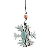 Snowflake Anhänger 3D Mint