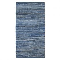 Teppich Jeansblau