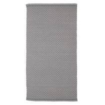 Teppich Rhombe Dark Grey 130 x 70