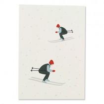 Karte Ava & Yves Skifahrer