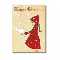 """Karte Belle and Boo """"Happy Christmas"""""""