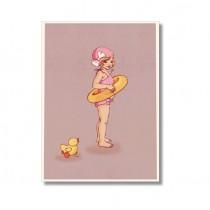 """Karte Belle and Boo """"Mermaid"""""""