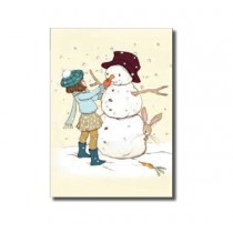 "Karte Belle and Boo ""Snowman"""