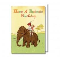 "Klappkarte Belle and Boo ""Fantastic Birthday"""