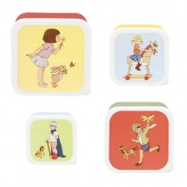 Belle and Boo Lunchboxen Set