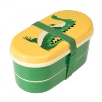 Bento Box Bunte TIERFREUNDE Krokodil