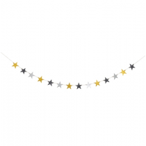 Girlande STARS Multicolor