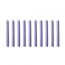 Kerzen Set 13cm Lavendel