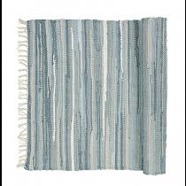 """Teppich """"Chindi"""" Blau 140cm x 70cm"""