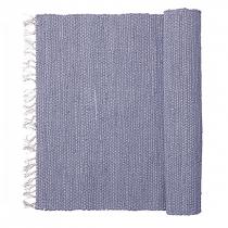 """Teppich """"Chindi"""" Blau 90cm x 60cm"""