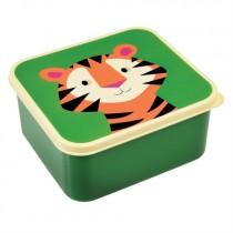 Lunchbox Bunte TIERFREUNDE Tiger