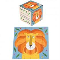 Bunte Tierfreunde Puzzle Löwe