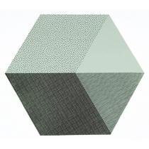 """Tischset """"Hexagon"""" Mint"""