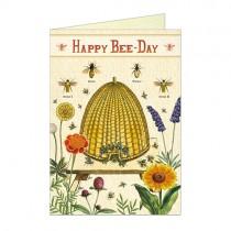 "Cavallini Klappkarte ""Happy Bee-Day"""