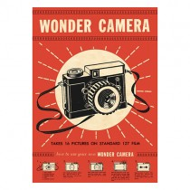 "Poster ""Wonder Camera"""