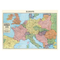 """Poster """"Europakarte"""""""