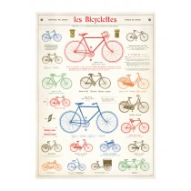 """Poster """"Les Bicyclettes"""""""
