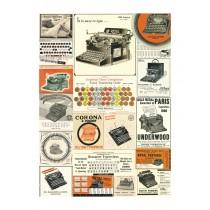 """Poster """"Vintage Typewriter"""""""