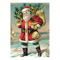 "Poster ""Santa Claus"""