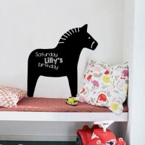 Nuukk Dala Pferd Tafelkreide Sticker