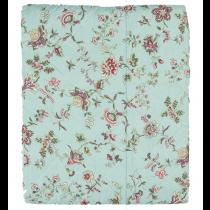 Bettüberwurf Mint Flower 240x260