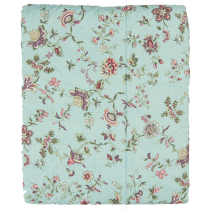 Bettüberwurf Mint Flower 140x220