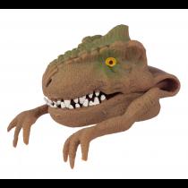 Dinosaurier Handpuppe Braun