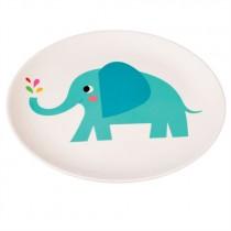 Elvis der Elefant Melamin Teller