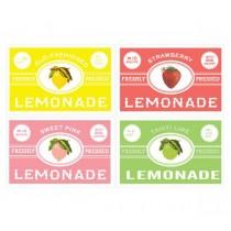 Etiketten Set Lemonade