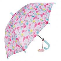 Kinder Regenschirm Flamingos