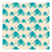 Geschenkpapier Set ELVIS der Elefant