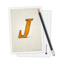 Karte Typo J