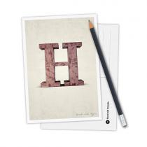 Karte Typo H