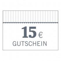 Gutschein 15 Euro (Code per Email)