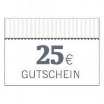 Gutschein 25 Euro (Code per Email)