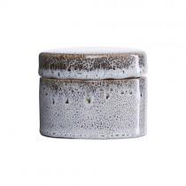 Keramikdose CROZ Schwarz-weiß