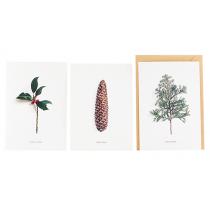 Karten Set WINTER GREETINGS