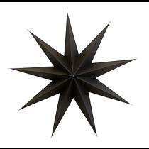 9 Point Papierstern Dunkelbraun Ø 60cm