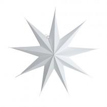 9 Point Papierstern Weiß Ø 45cm