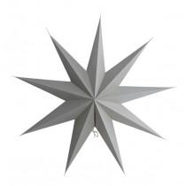 9 Point Papierstern Grau Ø 60cm