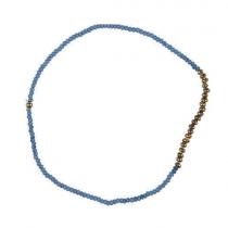 "Ib Laursen Armband ""Hedda"" Grau-Blau"