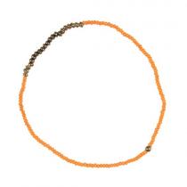 """Ib Laursen Armband """"Hedda"""" Orange"""