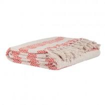 Decke MAJA Himbeer Rot