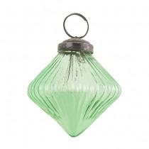 Glasdiamant Vintage Green Klein