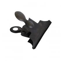 Dokumentenklammer Black mit Magnet